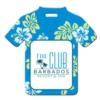 Hawaiian Shirt Shaped Luggage Tag