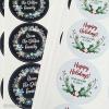 Custom Die-Cut White Vinyl Stickers