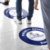 Floor Decal for Smooth/ Carpet Surfaces (18