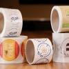 Custom Eco-Safe Paper Roll Labels (1