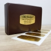 Custom Roll Labels Silver/Gold Permanent (5