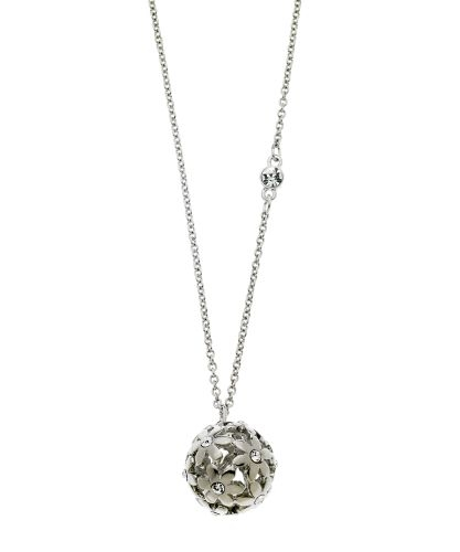 GUESS Jewelry - Flower Ball Necklace - Silver