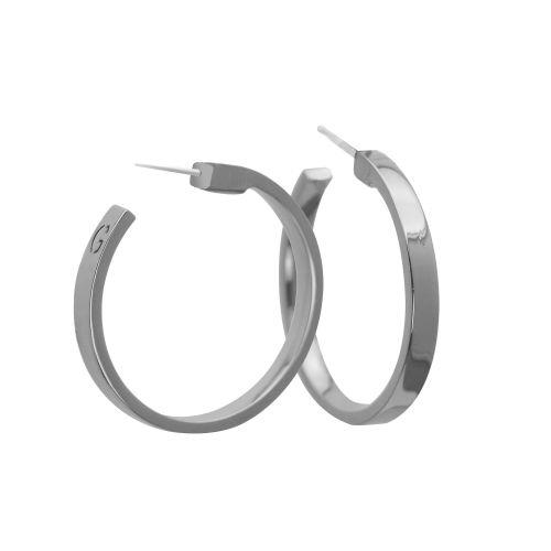 GUESS Jewelry - Hoop Earrings - Silver