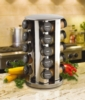 Kamenstein - 20-Jar Revolving Spice Tower with Free Spice Refills for 5 Years