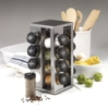 Kamenstein - 16-Jar Revolving Countertop Spice Rack with Free Spice Refills for 5 Years