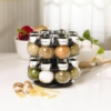 Kamenstein - 16-Jar Revolving Spice Rack with Spice Refills for 5 Years