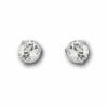 Swarovski - Solitaire Pierced Earrings