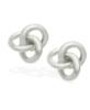 T Tahari Jewelry - Love Knot Earrings - Silver