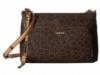 Calvin Klein Handbags - Lily Monogram Crossbody - Brown/Khaki/Camel