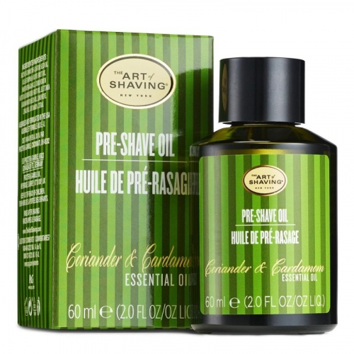 The Art of Shaving - Pre-Shave Oil - Coriander and Cardamom - 2 oz