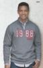 Premium Cotton 1/4-Zip Fleece Pullover Hoodie