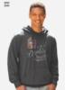 Lightweight Jersey Knit Pullover Hoodie