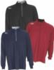 Greg Norman Play Dry® Heather 1/4-Zip Mock Neck Sweater