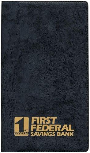 Monthly Planner w/ Castillion Vinyl Cover (1 Color Insert)