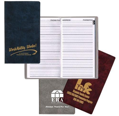 Pocket Telephone & Address Book w/ Executive Vinyl Cover