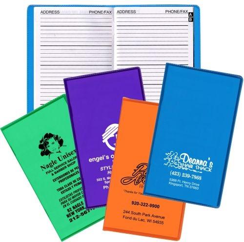 Ultra Vibrant TEK Translucent Vinyl Address Book