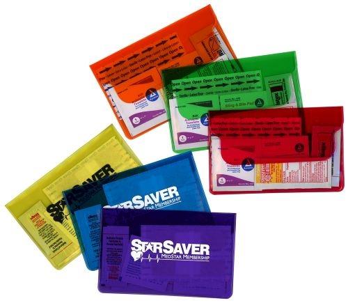 First Aid Purse w/ Ultra Vibrant TEK Translucent Vinyl Colors