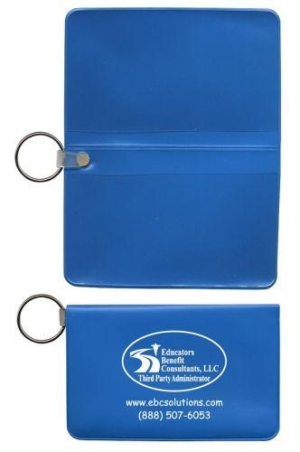 Horizontal Card Case w/ Key Ring