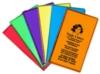 Weekly Pocket Planner - Ultra Vibrant TEK Translucent Vinyl w/1 Color Refill & Map
