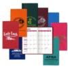 Academic Monthly Pocket Planner - Std. Vinyl w/2 Color Insert