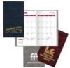 Academic Monthly Pocket Planner/ Calendar (Executive Crush Vinyl )
