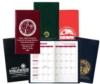 Monthly Planner w/ Castillion Vinyl Cover (2 Color Insert)