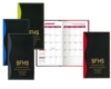 Soft Cover 2 Tone Vinyl Holland Series Monthly Planner / 2 Color