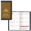 2 Tone Vinyl Cover Weekly Planner w/ 1 Color Insert w/o Map