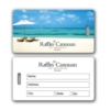 Medium Luggage Tag With Matte Back