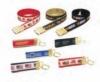 Motif Woven Ribbon Belt