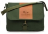 Courier Bag with Leather Flap 16