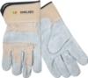 Split Leather Glove w/Safety Cuffs