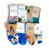 Custom Knit Cotton Crew Baby/Toddler Socks