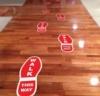 Ez Stik™ Footprints - Floor Smooth Short-Term