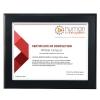 Ebony Finish Certificate Frame