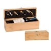 Bamboo Wine Presentation Box w/Tools