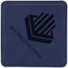 Leatherette Square Coaster (Blue)