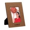 Leatherette 4 x 6 Photo Frame - Dark Brown