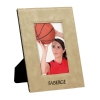Leatherette 4 x 6 Photo Frame - Light Brown