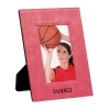 Leatherette 4 x 6 Photo Frame - Pink