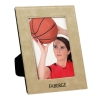 Leatherette 5 x 7 Photo Frame - Light Brown