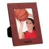 Leatherette 5 x 7 Photo Frame - Rose