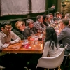 Acrylic Table Top Restaurant Barrier Sneeze Guard
