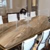 Large Interlock 10 Panel Tabletop Partition