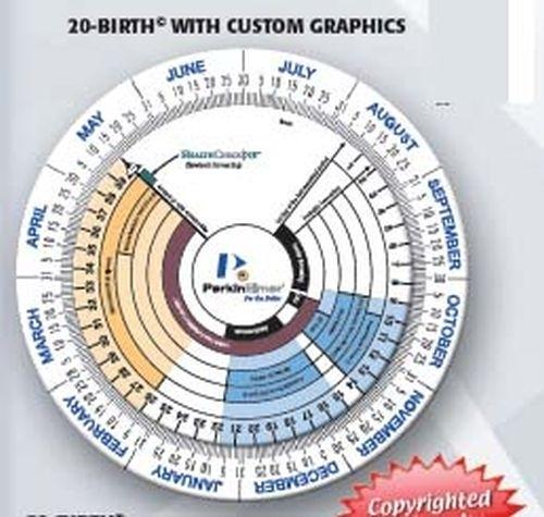 Pregnancy & Gestation Calculator Wheel-Large Size