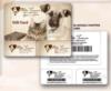 30-Double Shopper Card Film Laminated Card Keytag Combination On Card