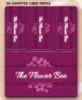 30-Shopper Card Triple Film Laminated Card Keytag Combination Card