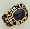 Corporate Diamond Addition 14K Gold Ring W/ Horizontal Rectangle Body