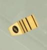 Corporate Fashion Medium Men's Ring W/ 4 Vertical Stripes