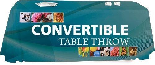 Convertible Premium Dye Sublimated Economy Table Throw